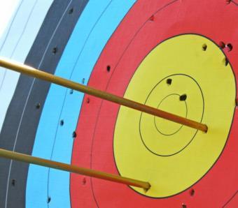 Not a bullseye but pretty good shooting