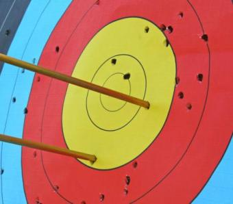 Good shooting on Archery at Max Events