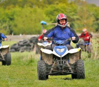 Quad Biking Safari at Max Events in Oxford