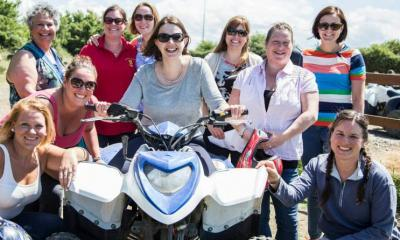 Hen do at Max Events Bristol Quad Biking