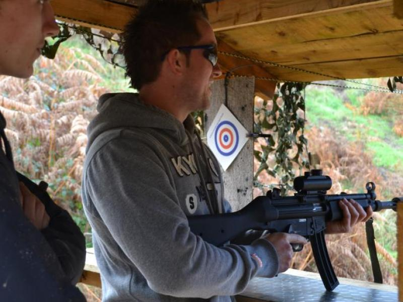 Image result for shooting range stag