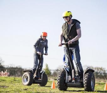 Stag do on Segways
