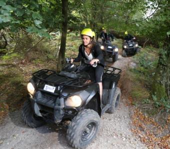 woodland quad biking safari