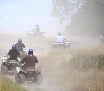 Dorset quad bike safari