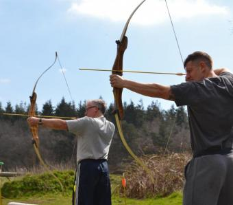 Archers taking aim on stag do in Bournemouth