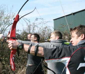 Clay archers take aim!
