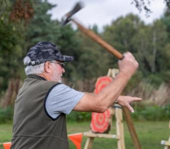 Great Axe throwing technique