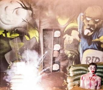 Bristol hen party zombie apocalypse