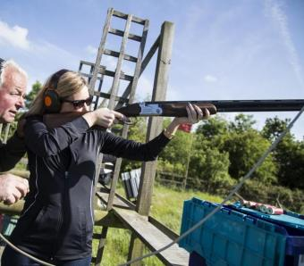 Instruction on Clay Shooting