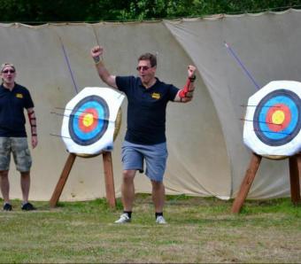 archery winners dance move