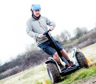 Segways on Bristol site