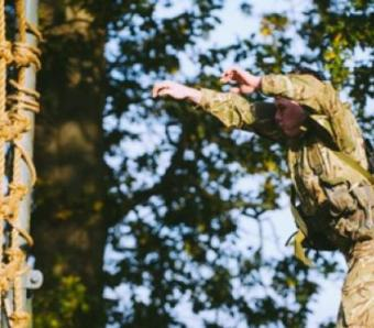 Assault Course leap