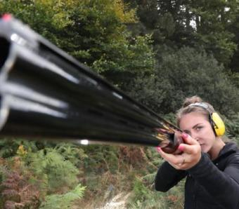 Clay pigeon shooting at max events outdoor activity centres