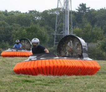 Hovercrafts at Max Events