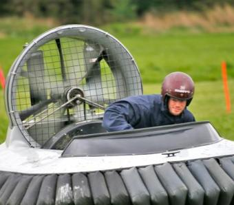 Hovercrafts in Oxford at Max Events