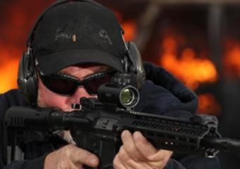 Assault rifle shooting at Max Events near Bournemouth