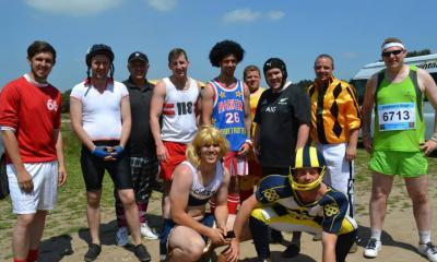 Stag party enjoying themselves at Max Events Bournemouth