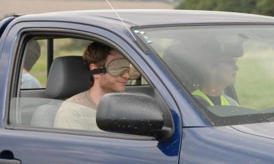 Blind Driving at Max Events in Oxford
