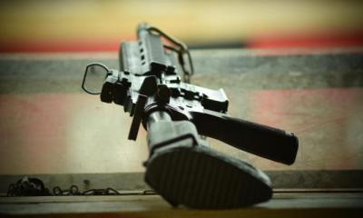 Assault Rifle ready for action