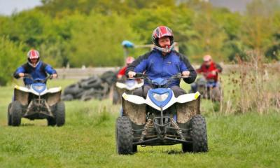 Quad Biking Safari at Max Events in Oxford