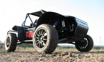 Rebel Buggy ready for some abuse from the stags and hens!